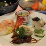 味杉 - コース料理の前菜