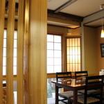味杉 - テーブル席