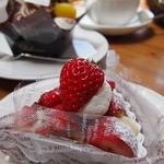夢語寄家 - 苺タルト350円