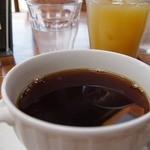 夢語寄家 - ケーキセット750円湧水コーヒー