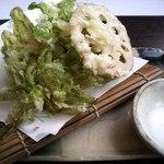 風香 - ふきのとうの天ぷら