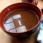 井桁寿司 - 赤出汁(2013.3)