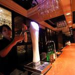 サンコウエンチャイナ・カフェ アンド ダイニング - アサヒエクストラコールドが一番美味しいコールドタワーの前の特等席