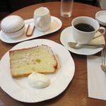 Fイワモリ - ケーキセット