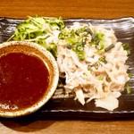 マルテキ屋 - 白センマイ刺¥580 2013.3.21