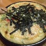 呑み食い処ぼぎぃ - 山芋鉄板焼