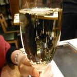 京ちゃばな~大地の恵み~ - スパークリングワイン 娘が飲んでいます