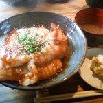 Kemuri - ベーコンエッグ丼 850円