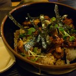 焼き鳥おやき - そこそこ美味しい焼き鳥丼