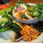 アンソレイユ - 春野菜のブイヨン・ド・レギュームカレー
