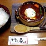 丹乃蔵 - 煮込みハンバーグランチ!(2013,04/07)