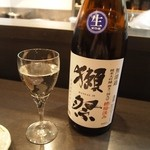 萌えぎ - 獺祭の超限定酒「槽場汲み」 2013年4月