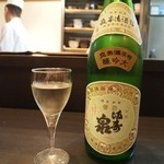 萌えぎ - 満寿泉 大吟醸 2013年4月