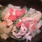 玄妙和楽 - 蒸し鶏サラダ