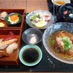 旬和席 うおまん - ☆彩り寿し御膳(≧▽≦)~♡☆