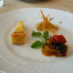 Trattoria Serena - 前菜3種盛り合わせ