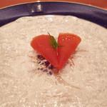 18340187 - 岩手産ニジマスの香草マリネと紅芯大根