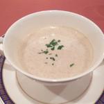 18340200 - 本日のスープ(ゴボウスープ)