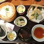 和食さと - 鯛めしと季節の天ぷら膳