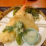 和食さと - 季節の天ぷら