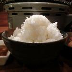やきにくのバクロ - 大盛りご飯