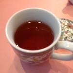 蔭山樓 - ジャスミン茶…ポットサービスでなくマグカップです。。350円