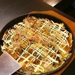 味処あん - 料理写真:お好み焼き