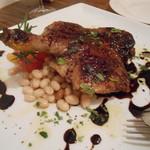 イルポッジョ - シャラン産鴨モモ肉のロースト2013,4