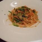 イルポッジョ - 桜海老と菜の花のパスタ2013,4