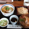 そば酒膳 あづみ野 - 料理写真:カツ丼セット(\1100)♪