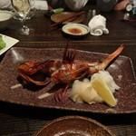 魚魚権 - キンキの焼きもの