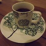 玄米生活 - 「朝セット」のアメリカン。このカップ気に入りました。次回もこのカップにしていただこうと思います。