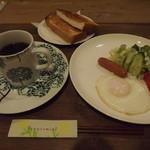 玄米生活 - 「朝セット」550円