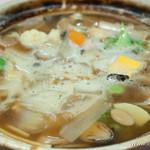 維新號 - 什錦砂鍋湯麺(なべそば)