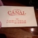 CANAL - ショップカード