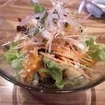 18350893 - サラダ、有機・無農薬栽培の野菜だそうです。