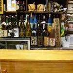 やきとり仲ちゃん - 2013.04 焼酎の種類は豊富でしたよ。