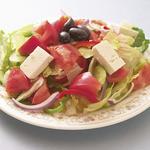 スパルタ - ギリシャのサラダと言えばこのサラダ!ドレッシングは野菜本来から出しています!