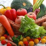 丘の上のビアレストラン - 地元の野菜も使用!新鮮野菜