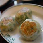 上海バール - ニラ饅頭~☆