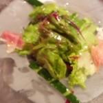 18356187 - ランチのサラダは冷え冷え