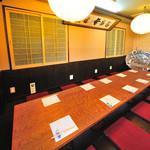 すっぽん ふぐ 寿司割烹 得 月 - 内観写真:【中広間】6~10名様用個室