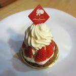 シェ・サンタ - 苺のタルト¥350