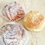 ケーキハウス クローバー・クローバー - 料理写真:シュークリームとスコーン