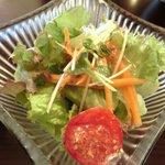 18358872 - 日替り肉料理 900円 のサラダ