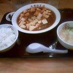 大阪王将 - 四川風麻婆豆腐(ごはんセット)
