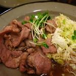 中央酒場 - とんてき(450円) 肉柔らかすぎ!