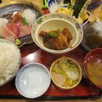 スタンドふじ 本店 - ふじ刺身定食 880円