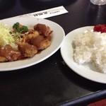 光陽軒 - 料理写真:ヒレカツ定食、画像スープ撮り忘れました。
