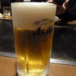 おいしんぼ - ドリンク写真:生ビール 500円